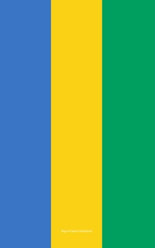 9781536807837: Flag of Gabon Notebook: College Ruled Writer's Notebook for School, the Office, or Home! (5 x 8 inches, 78 pages)