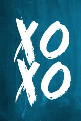9781536829815: Chalkboard Journal - XOXO (Aqua): 100 page 6