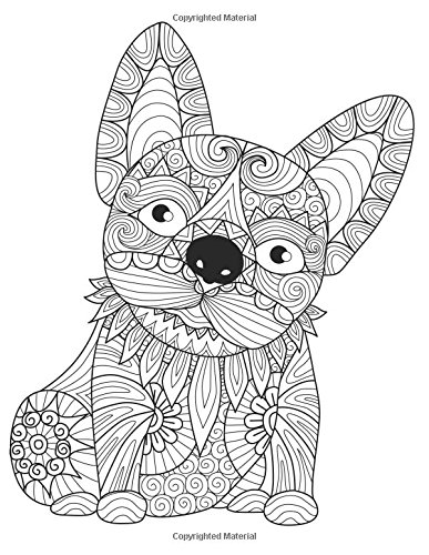 """9781536831702: Daily Planner Journal: 365 + Days Bullet Journaling Blank Notebook with sections for date, time, notes, lists & doodles! 8.5 x 11 size, 380 pages, Zentangle French """"Frenchie"""" Bulldog Cover"""