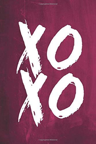 9781536849639: Chalkboard Journal - XOXO (Pink): 100 page 6