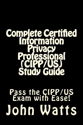 9781507750636: Certified Information Privacy Professional (CIPP ...