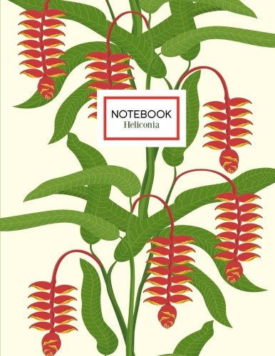9781536857368: Heliconia Notebook: Tropical Heliconia