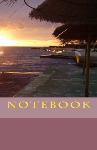 9781536882278: NOTEBOOK - Sunset in Santa Ponsa