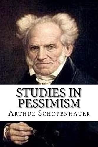 9781536918618: Studies In Pessimism