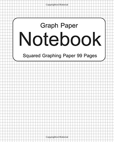9781536918960: Graph Paper Notebook : Squared Graphing Paper 99 Pages