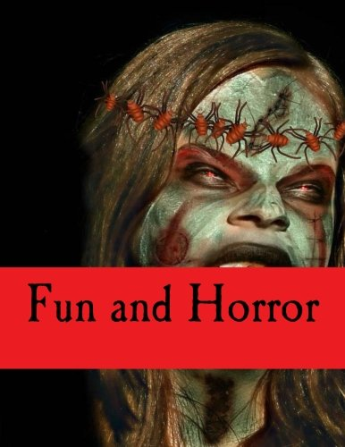 9781536920833: Fun and Horror: Adult Coloring Book