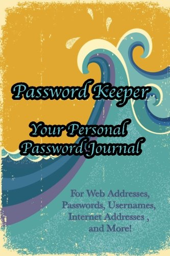 9781536936186: Password Keeper Your Personal Password Journal For Web Addresses, Passwords: Internet Addresses and More! Beautiful Purple and White Flower
