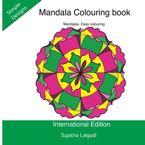 9781536937411: Mandala Colouring book: Mandalas. Easy colouring: Simple mandala colouring book, Adult colouring,Calming mandalas: Mindfulness,Easy mandalas. 2 (Beginner colouring books for Adults)