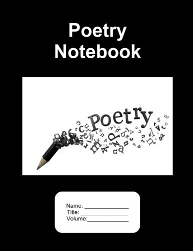 9781536959918: Poetry Notebook. 500 Pages Lined Paper. 8.5