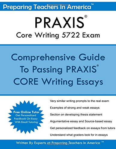 9781536967333: PRAXIS Core Writing 5722 Exam