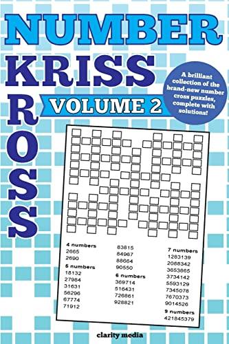 Number Kriss Kross Volume 2: 100 Brand: Media, Clarity