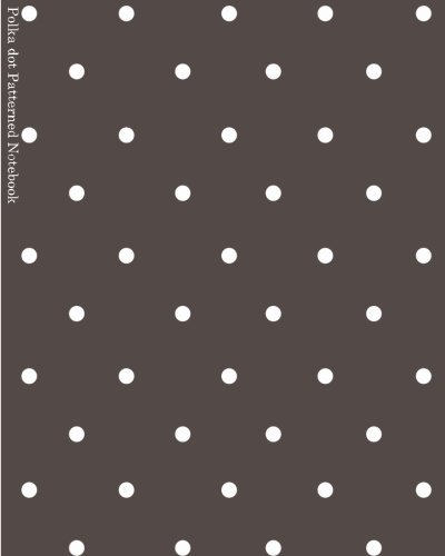 9781536971804: Polka dot Patterned Notebook: Miko Isao No line Sketch and Notebook (Blank notebook) (Volume 1)