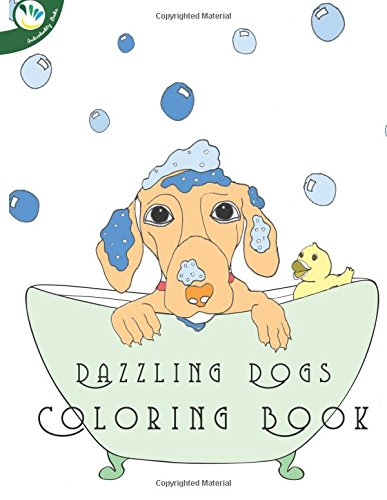 9781537013459: Dazzling Dogs Coloring Book