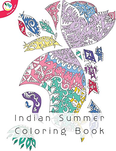9781537013671: Indian Summer Coloring Book