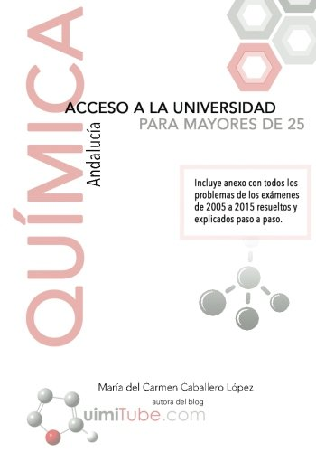 9781537020235: Química - Preparación de la prueba de acceso a la universidad para mayores de 25 años: Andalucía