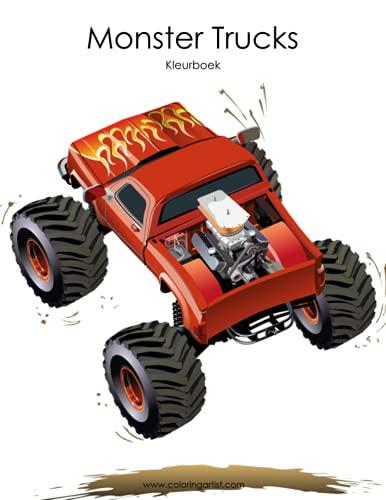 9781537074108: Monster Trucks Kleurboek 1 (Volume 1) (Dutch Edition)