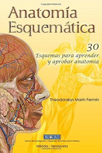 9781537076805: Anatomia Esquematica: 30 esquemas para aprender y ...