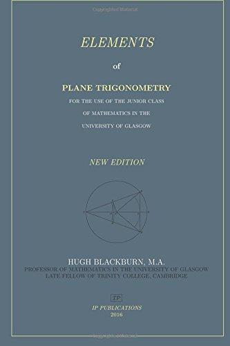 9781537085241: Elements of Plane Trigonometry