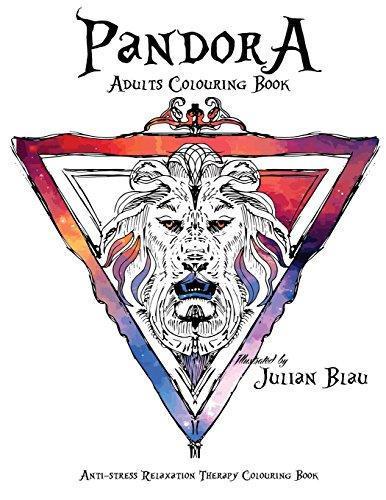 9781537089690: Pandora - Adultes book colorier: Anti -stress Relaxation Therapy colorier (pour adultes et enfants ) - Le Roi Lion - The Lion King (Pandora Art Illustrations) (Volume 5)