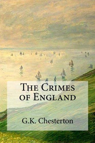 9781537106243: The Crimes of England