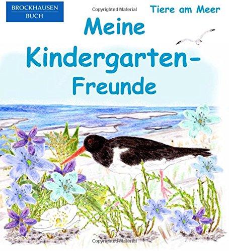 9781537110172: BROCKHAUSEN: Meine Kindergarten-Freunde: Tiere am Meer - Freundebuch für Mädchen (Volume 13) (German Edition)