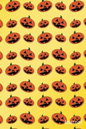 9781537137384: Journal: Yellow pumpkin jack o lantern notebook