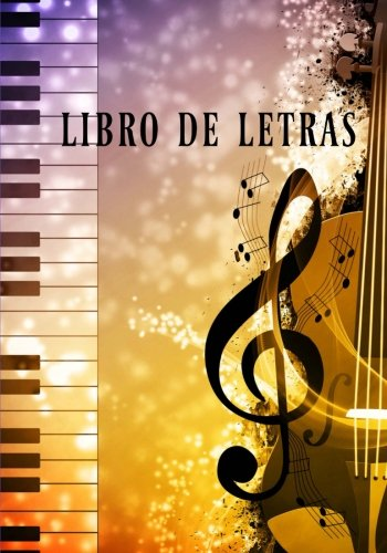 9781537147055: Libro de Letras: cuaderno de compositores (Spanish Edition)