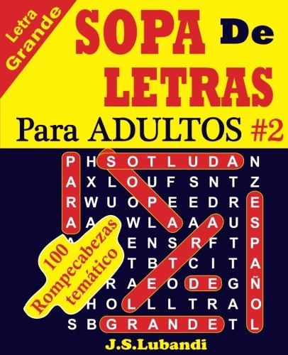 9781537153902: SOPA De LETRAS Para ADULTOS: Volume 2
