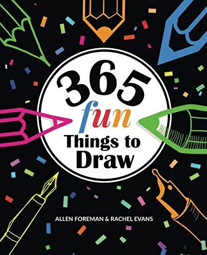 9781537174563: 365 Fun Things to Draw