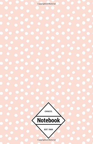 "9781537191836: GM&Co: Notebook Journal Dot-Grid, Lined, Graph, 120 pages 5.5""x8.5"" (Pink Leopard Animal Dot Pattern)"