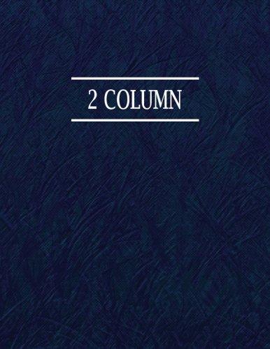 9781537202013: 2 Column: 168 Page Ledger