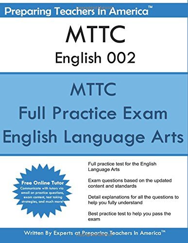 9781537224206: MTTC English 002: Michigan Test For Teacher ...
