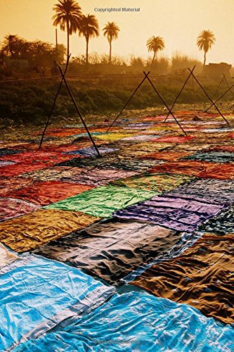 9781537266862: Drying Sari in India Journal: 150 page lined notebook/diary
