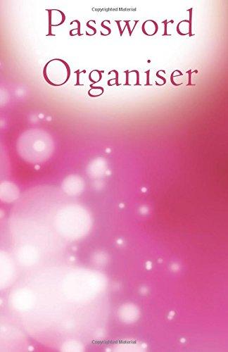 9781537269054: Password Organiser: Password Organiser/ Diary / Notebook Pink