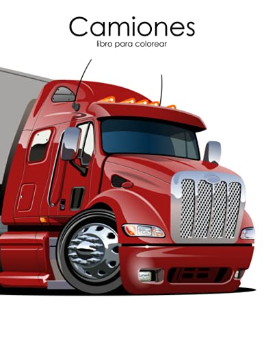 9781537275970: Camiones libro para colorear 1 (Volume 1) (Spanish Edition)