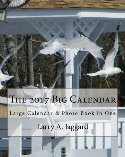 9781537281711: The 2017 Big Calendar: Large Calendar & Photo Book in One
