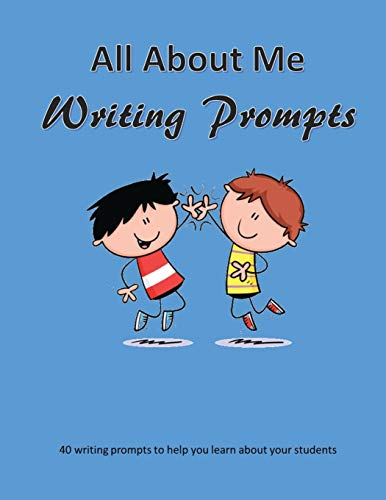 9781537316390: All About Me Writing Prompts
