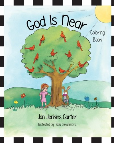 9781537324715: God Is Near Coloring Book