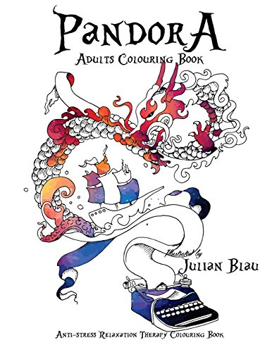 9781537330297: Pandora Adults Colouring Book: Anti-stress & Creativity Boost Illustrations