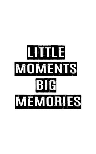 9781537332260: Little Moment Big Memories,Graph Paper Notebook,Small Journal Series, 64P, 5