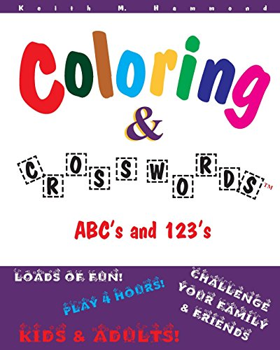 9781537337432: Coloring and Crosswords: ABC's and 123's (Volume 1)
