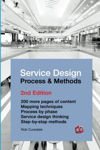 9781537356235: Service Design Process and Methods