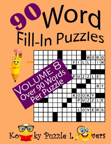9781537356273: Word Fill-In Puzzles, Volume 8, 90 Puzzles