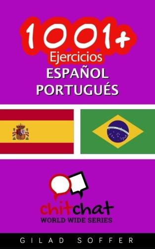 9781537372013: 1001+ Ejercicios español - portugués