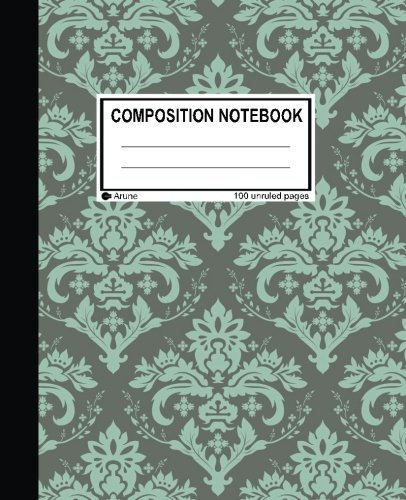 9781537380339: Unruled Composition Notebook: 100 unruled pages [50 sheets], 7.5
