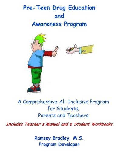9781537388557: Pre-Teen Drug Education and Awareness Program