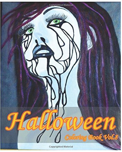 9781537391236: Halloween : Coloring Book Vol.8: Super Fun Fantasy Coloring Books for Kids and Adults (Volume 8)