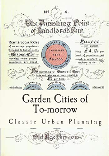 9781537406503: Garden Cities of To-morrow: Urban Planning