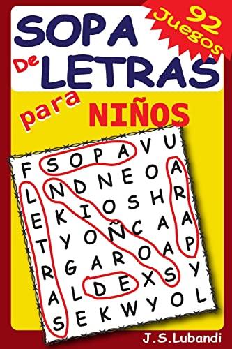 9781537423630: Sopa de Letras para Niños (Volume 1) (Spanish Edition)