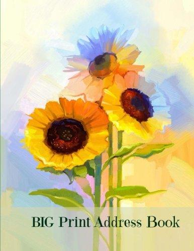 9781537433196: BIG Print Address Book (Jumbo Size Address Book-Large Print) (Volume 35)